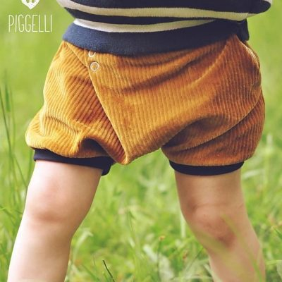 Einfältig kurz Kinderhose Kurze hose Faltenhose Nähen für Kinder kostenlose Schnittmuster Gratis-Nähanleitung