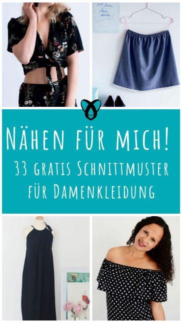 Damen_Kleidung_für_Frauen_gratis_Schnittmuster_Freebooks_naehen_Oberteile_Kleider_Röcke_kostenlose_nähideen