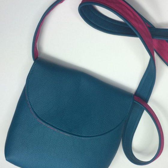 Handtasche Susi Schultertasche Trägertasche Tasche kostenlose Schnittmuster Gratis-Nähanleitung