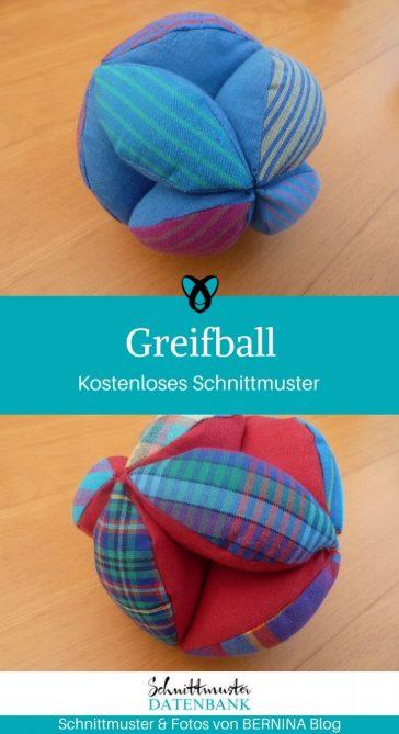 Greifball Babyspielzeug Haustiere Hundespielzeug kostenlose Schnittmuster Gratis-Nähanleitung
