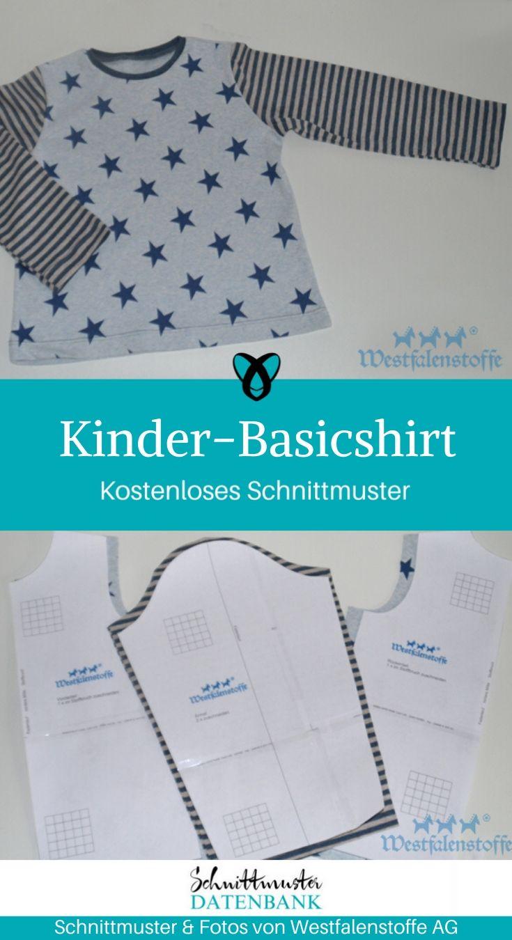 Downloaden schnittmuster kostenlos baby shirt Nähideen und