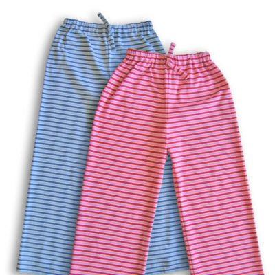 Pyjamahosen für Kinder Schlafanzug Nachtwäsche Nähen für Kinder kostenlose Schnittmuster Gratis-Nähanleitung
