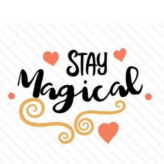 Stay Magical Plotter-Freebie kostenlose Plottdatei kostenlose Schnittmuster Gratis-Nähanleitung
