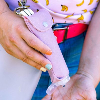 Tubentasche Bamboleo Accessoires praktisches kostenlose Schnittmuster Gratis-Nähanleitung
