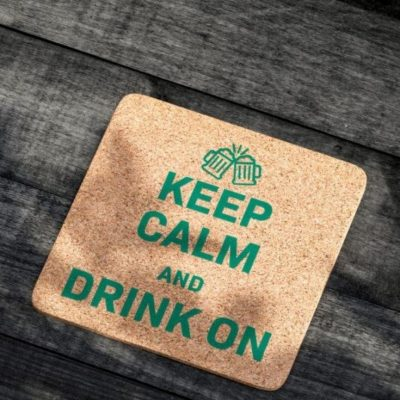 Keep Calm and drink on Plotter-Freebie kostenlose Schnittmuster Gratis-Nähanleitung