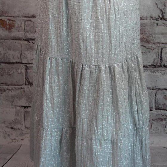 Stufenrock Lucia Maxirock Damenrock Rock Nähen für Frauen Damenbekleidung kostenlose Schnittmuster Gratis-Nähanleitung
