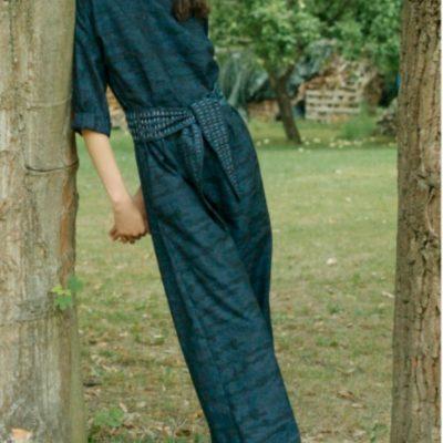 Jumpsuit Benita weiter Overall Damenbekleidung kostenlose Schnittmuster Gratis-Nähanleitung