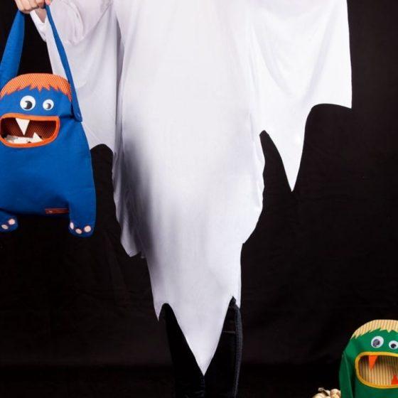 Monstertasche Trick or Treats Halloween Süssigkeiten sammeln Kindertasche kostenlose Schnittmuster Gratis-Nähanleitung