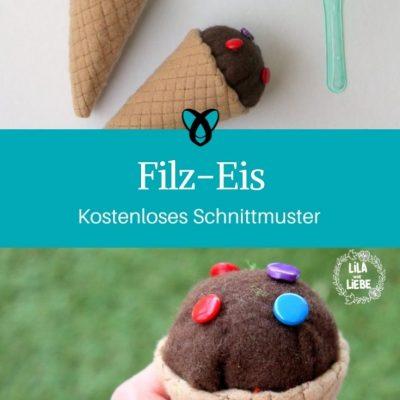 Filz-Eis Kaufladen Für Kinder Kinderküche Spielzeug Weihnachten kostenlose Schnittmuster Gratis-Nähanleitung