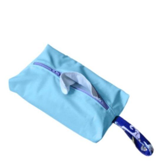 Feuchttücher Tasche Wet bag Nähen zur Geburt Erstausstattung kostenlose Schnittmuster Gratis-Nähanleitung