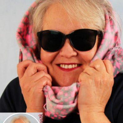 Loop-Schal-Maske Mundschutz Maske selber nähen Corona kostenlose Schnittmuster Gratis-Nähanleitung
