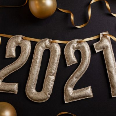 Jahreszahl-Girlande Sylvester Jahresende 2021 Feiern Deko kostenlose Schnittmuster Gratis-Naehanleitung
