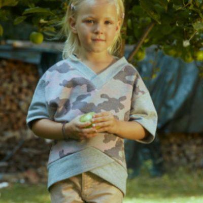 Kinderpullover Blance Sweatpullover Naehen fuer Kinder kostenlose Schnittmuster Gratis-Naehanleitung