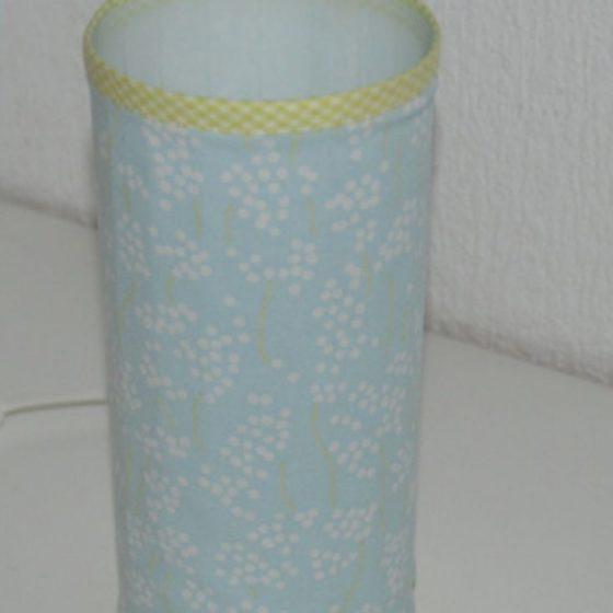 Lampenschirm Nähen für Zuhause kostenlose Schnittmuster Gratis-Nähanleitung