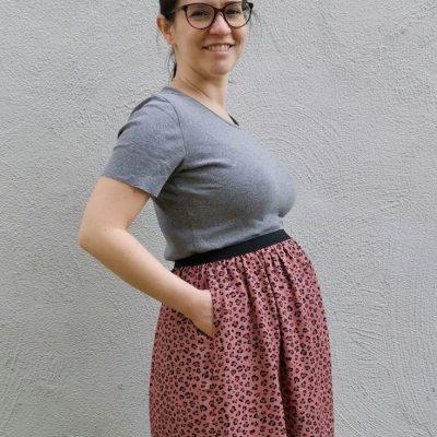 maternity schwangerschaftsrock umstandsrock umstandskleidung schwangerschaft babybauch kostenlose schnittmuster gratis-naehanleitung