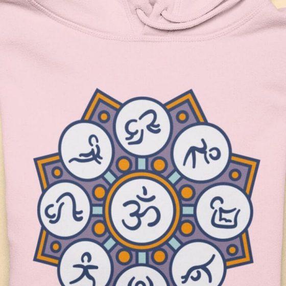 Plotterfreebie Mandala yoga yogaposen meditation sport kostenlose Plottdatei Schnittmuster gratis naehidee