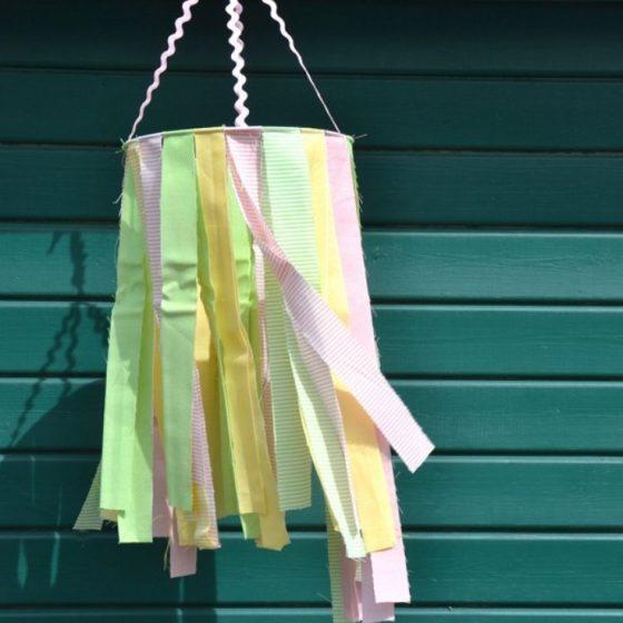 windspiel stoffreste naehen fuer den garten fuer zuhause kostenlose schnittmuster gratis naehanleitung