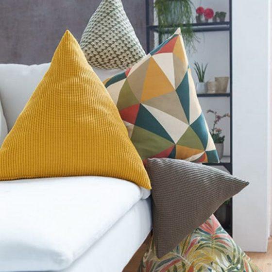Dreieckskissen fuer zuhause sofa couch gemuetlich inneneinrichtung kissen deko kostenlose schnittmuster gratis naehanleitung