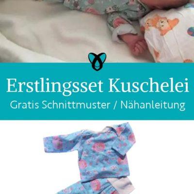 erstlingsset hose shirt baby erstausstattung geschenke zur geburt pumphose longsleeve kostenlose schnittmuster gratis naehanleitung