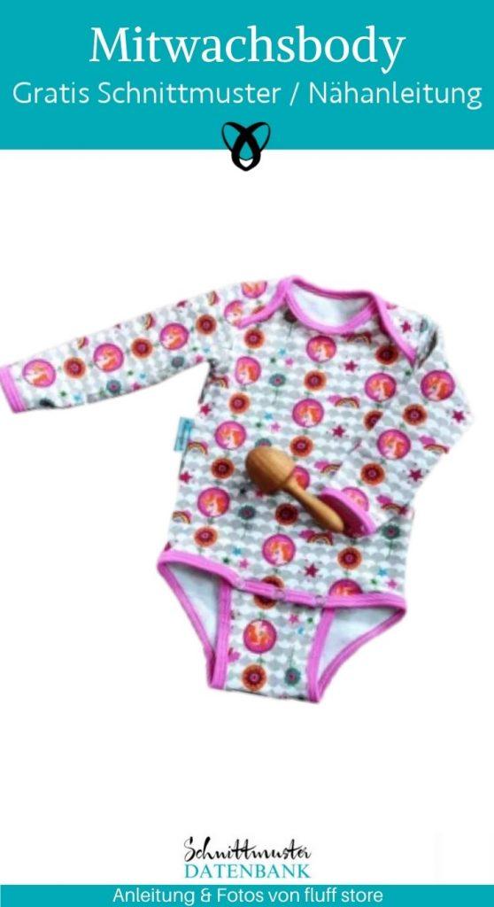 mitwachsbody mitwachsender body stoffwindeln baby erstausstattung geschenke zur geburt unterwaesche kostenlose schnittmuster gratis naehanleitung