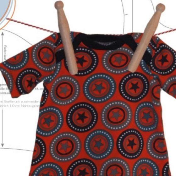 Puppenkleid Puppenkleidung Fruehchenkleid spielzeug kinder puppe kostenlose schnittmuster gratis naehanleitung
