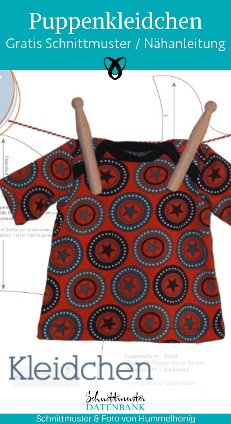 Kleidchen gratis schnittmuster DIY MODE