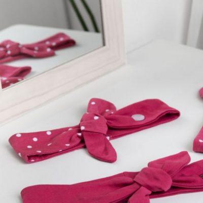 schleifiges haarband schleife stoffreste jersey schnelle naehprojekte anfaenger naehen kostenlose schnittmuster gratis naehanleitung