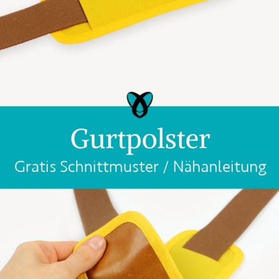 Gurtpolster Taschen Taschengurt Accessoires kostenlose schnittmuster gratis naehanleitung naehidee