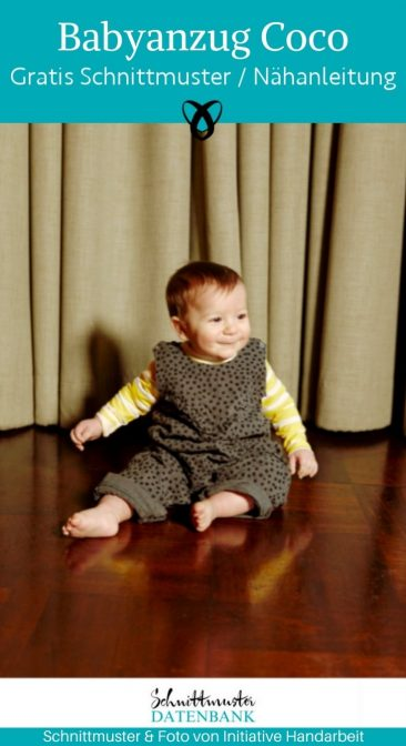 babyanzug strampler overall latzhose babykleidung naehen fuer babies kostenlose schnittmuster gratis naehanleitung