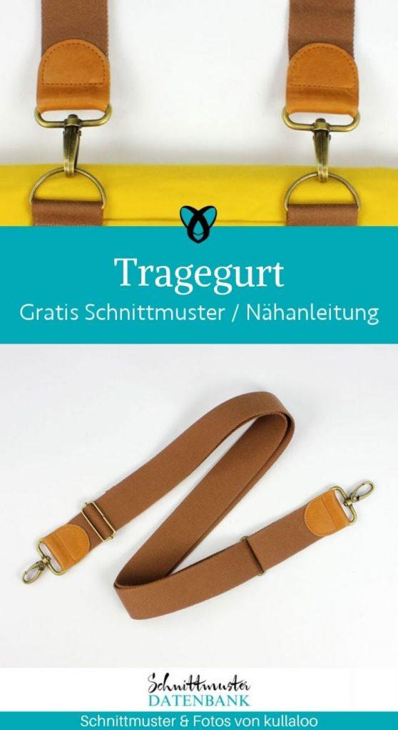 tragegurt taschen taschengurt gurtband reisetasche handtasche accessoires kostenlose schnittmuster gratis naehanleitung