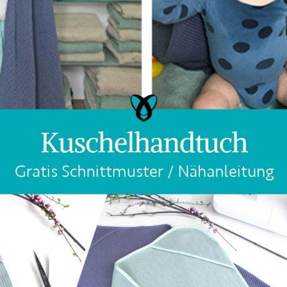 Kuschelhandtuch baby baden erstausstattung badehandtuch kapuzenhandtuch baby hygiene koerperpflege geschenke zur geburt kostenlose schnittmuster gratis naehnanleitung
