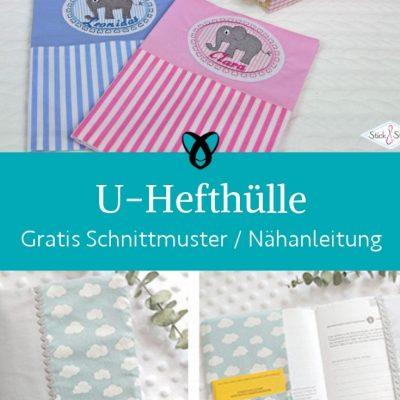 U heft huelle untersuchungsheft kinder impfpass versichertenkarte geschenke zur geburt kostenlose schnittmuster gratis naehanleitung